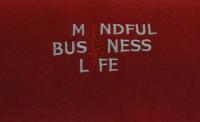 MBL Meditationsdecke bordeauxrot